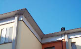Cornicione in HPL Fundermax Exterior finitura Plain Colour